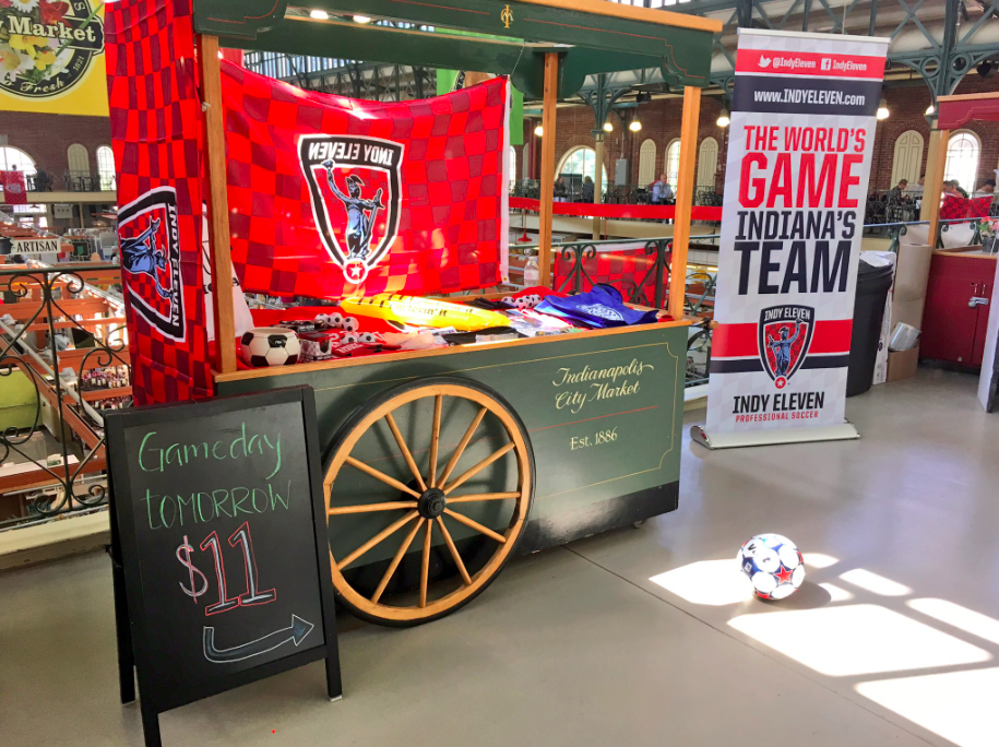 Indy Eleven Pop-up Ticket Shop