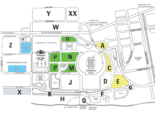 Season Parking  Jacksonville Armada FC