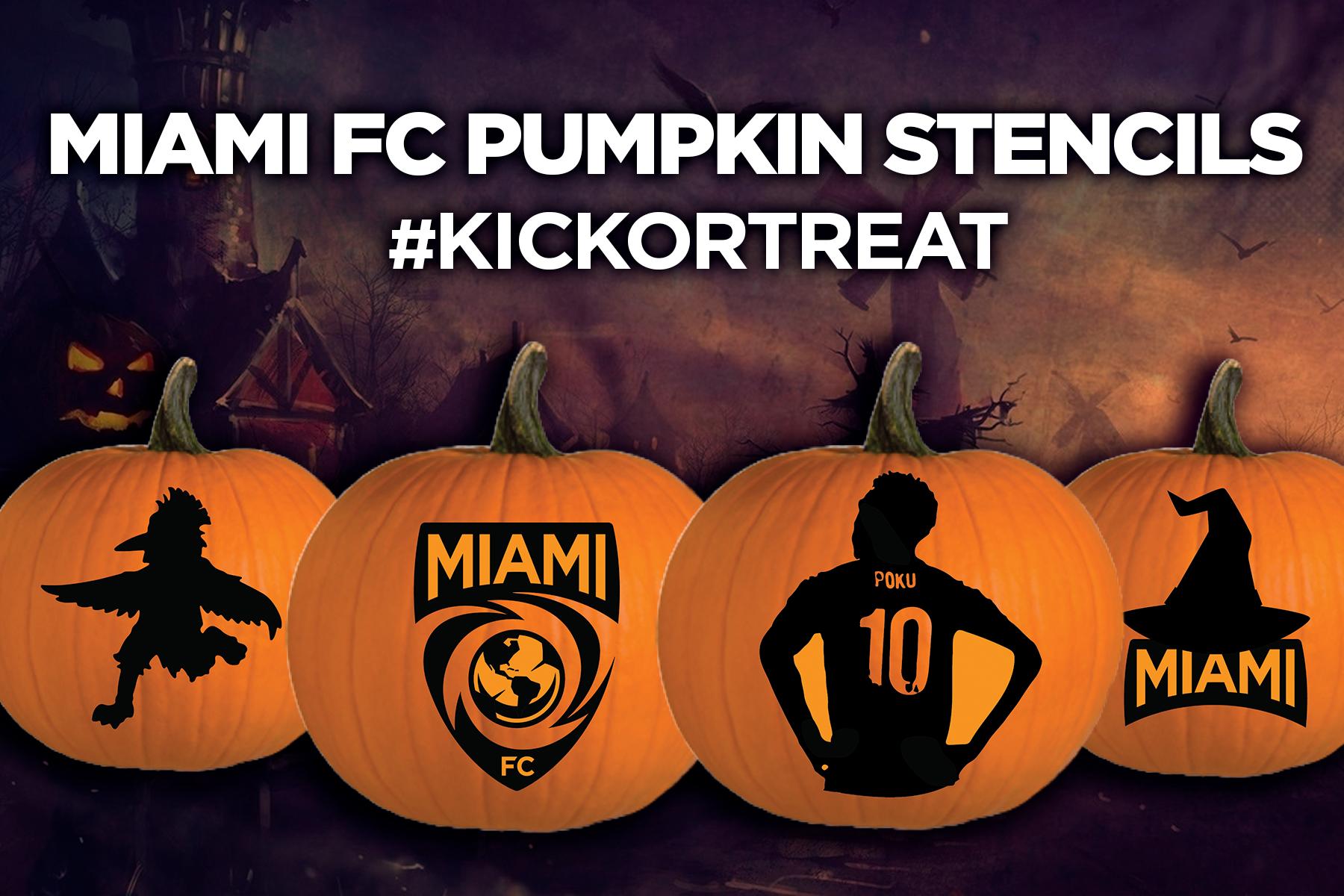 Miami FC Pumpkin Stencils | Miami FC