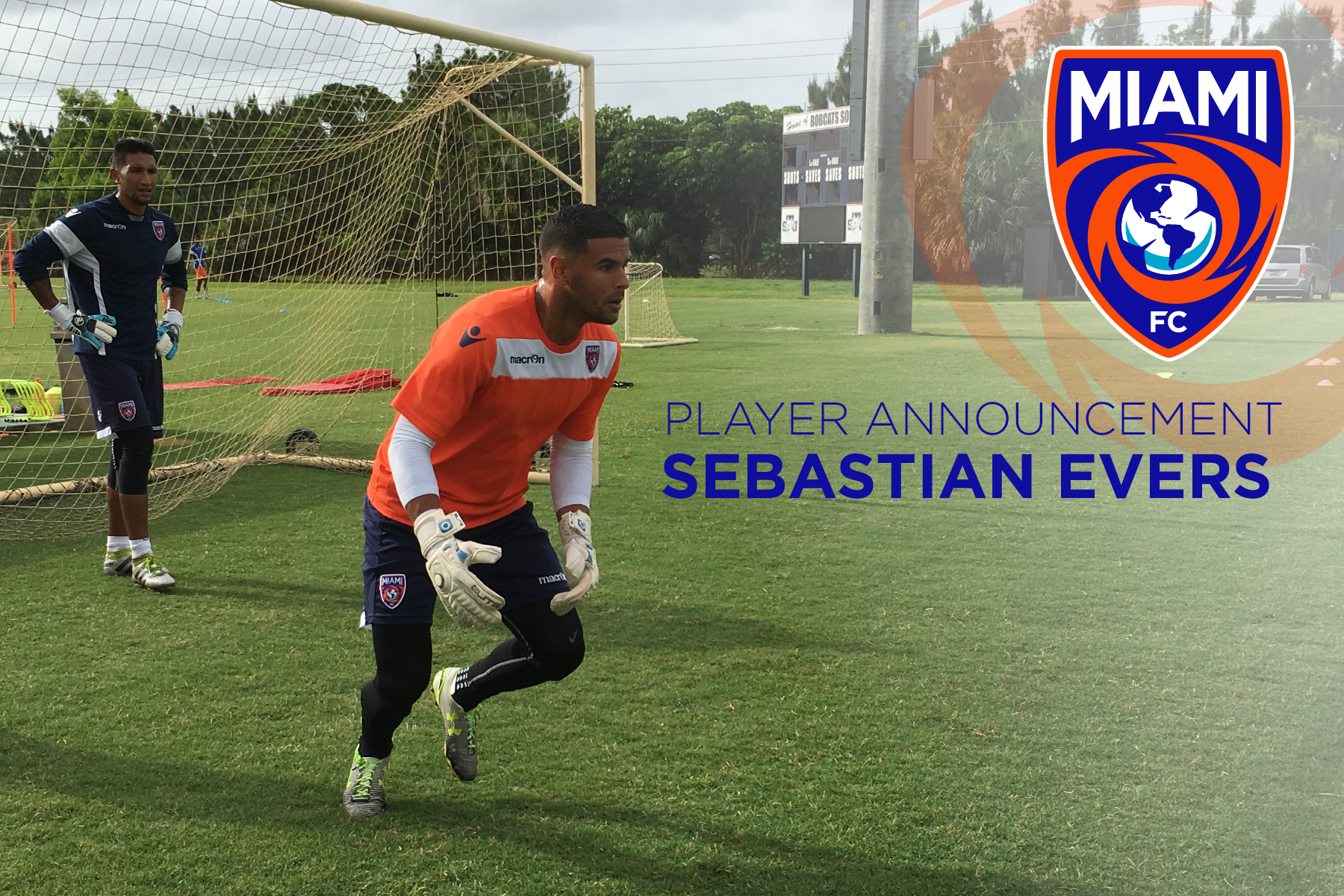 the miami fc acquires local product sebastian evers from armada