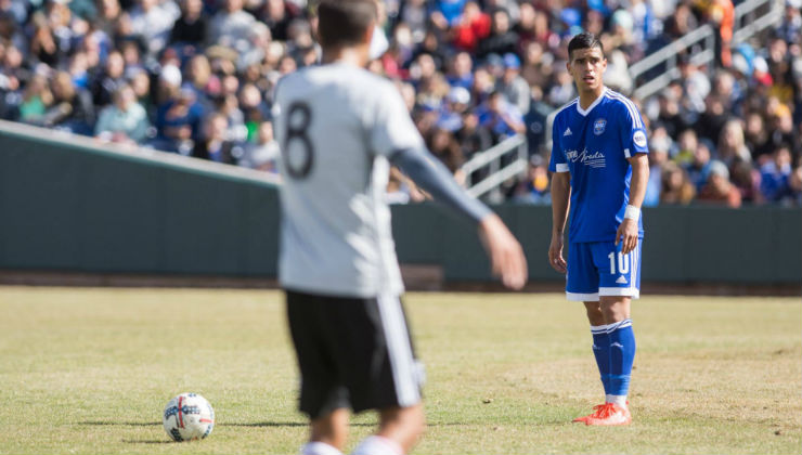 New York Cosmos Sign Salvadoran International Junior Burgos