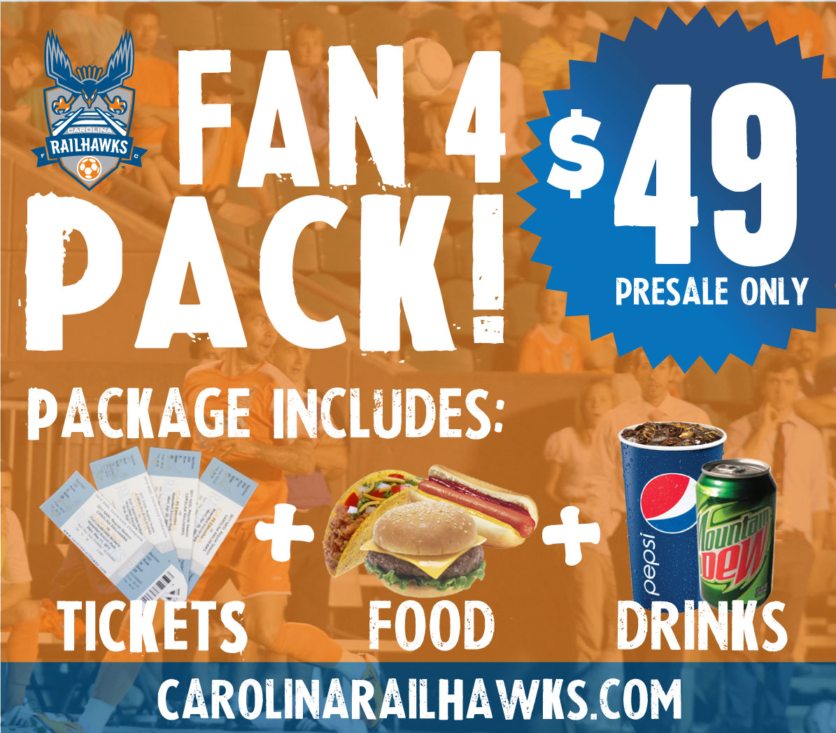 To purchase your Fan 4 Pack: